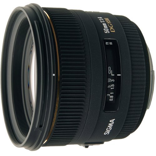 Sigma 50mm f1.4 EX DG HSM Lens for Nikon Digital SLR Cameras