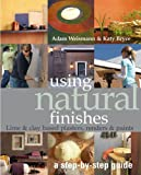 Using Natural Finishes