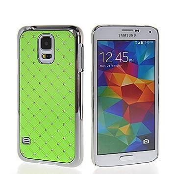 Galaxy S5 Mini casco, cromo brillante diamante Bling COOLKE ...