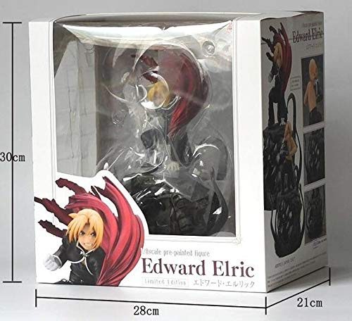 - Anime Collectible Action Figure - Anime Fullmetal Alchemist Edward Elric Japanese Figure Action Collectible Model Toys 22cm - with Box 1 - C30