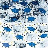 ZOOM001 Bright Royal Blue Congrats Grad Confetti