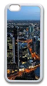 Australia melbourne cityscapes Custom iphone 6 plus 5.5inch Case Cover TPU White &hong hong customize