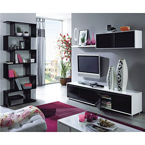 Habitdesign Mueble De Comedor Moderno Tv Color Blanco Y