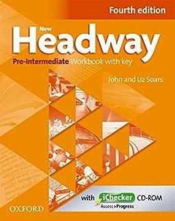 New headway pre intermediate fourth edition students book amazon new headway pre intermediate a2 b1 workbook ichecker with key fandeluxe Gallery