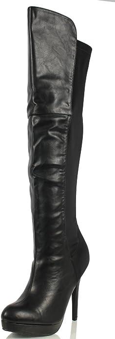 The Knee High Heel Boots