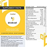 CodeRed Reduce Alcohol Flush Reaction - 15 Servings - Minimize Asian Glow by Supporting Vascular Integrity - Help Your Body Process Acohol-Induced Toxns and Provide Antioxidant Support