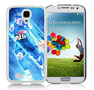 New Custom Design Cover Case For Samsung Galaxy S4 I9500 i337 M919 i545 r970 l720 New York Knicks Anthony 2 White Phone Case
