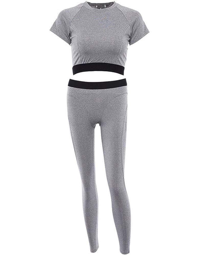 XXSPU Yogakleidung, Sportbekleidung, Sportbekleidung für Damen, Fitnessbekleidung, Trainingsanzüge, Laufanzüge, Outdoorbekleidung, T-Shirts