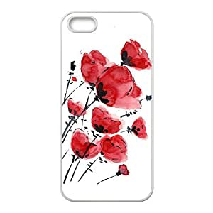 ANCASE Diy Watercolor Selling Hard Back Case for Iphone 5 5g 5s