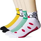 LIN 4 Pack Performance Cycling Socks for Men &...