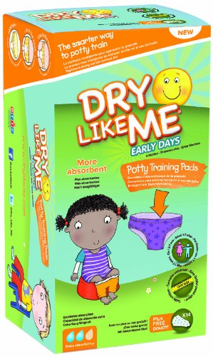 Dry Like Me Premiers jours Pot de formation – 14 x 4 (Total de 56) TOIAK 6211