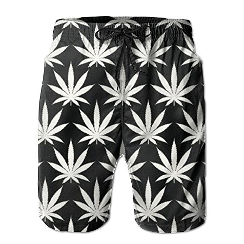 PPANFKEI-Cannabis-Leaf-Lined-Mens-Boardshorts-Swim-Trunks-Men-Tropical-Basketball-Athletic-Board-Shorts-Bathing-Swim-Trunks