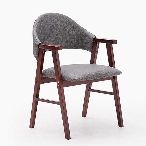 Amazon.com: Silla de comedor, silla de comedor vintage para ...