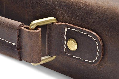 """Hølssen Briefcase Messenger 13"""" Laptop Genuine Leather Bag by Hølssen (Image #5)"""