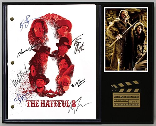 "THE HATEFUL 8 LTD EDITION REPRODUCTION MOVIE SCRIPT CINEMA DISPLAY ""C3"""
