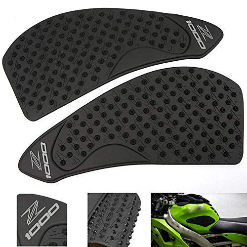 - TESWNE Tank Pad Protector Sticker Gas Knee Grip Traction Side Motorcycle For KAWASAKI Z1000 2007-2009