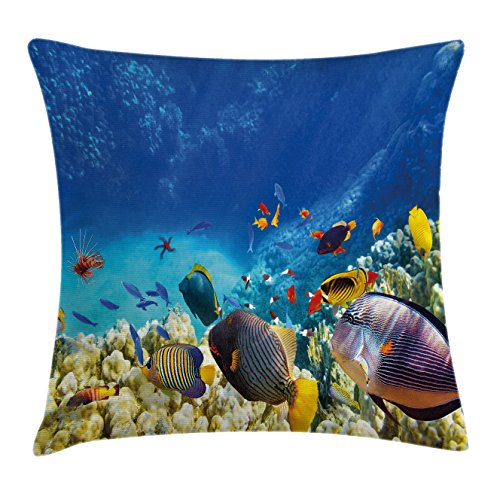 Review Ocean Decor Throw Pillow
