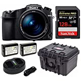 Sony Cyber‑Shot RX10 IV with 0.03 Second Auto-Focus & 25x Optical Zoom (DSC-RX10M4), SanDisk Extreme PRO 128GB