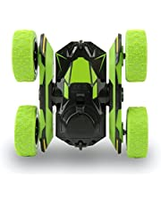 Electric RC Stunt Car 2WD Off Road Remote Control Vehicle 2.4GHz Racing Vehicle LED Headlights Extreme High Speed 7.5MPH 360 Degree Rolling Rotating Rotation(Battery Not Included)