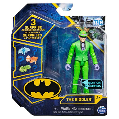 DC Batman 2021 Riddler 4-inch Action Figure by Spin Master