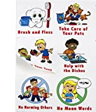 """Kenson Kids """"I Can Do It"""" Reward and Responsibility Chart, 11 X 15.5-Inch"""