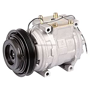 New ac compressor clutch with complete a c for Honda civic ac compressor replacement cost