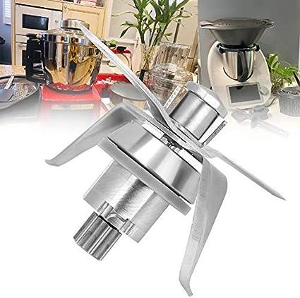 Atyhao Cuchilla de licuadora, Cuchilla de licuadora de Acero Inoxidable Accesorios de Repuesto para licuadora para Vorwerk Thermomix TM21