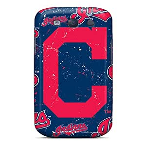 Shock Absorption Cell-phone Hard Covers For Samsung Galaxy S3 With Allow Personal Design Trendy Cleveland Indians Pictures JohnPrimeauMaurice