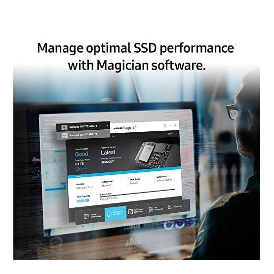 Samsung 970 PRO 512GB NVMe M.2 Internal SSD (MZ-V7P512BW) [Canada Version] 51v29AVsmwL. SS555