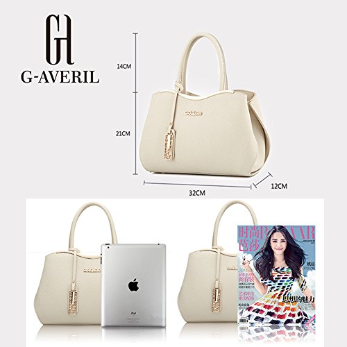 Borsa a Donna con Bag Spalla Tote Mutil borsa Bag Borse Shoulder a mano G grigio tasche Handbag AVERIL EqqC8