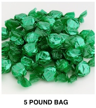 Golightly CHOCOLATE MINT Hard Candy, 5 lb, Sugar Free, Individually wrapped (about 600 pcs) by GoLightly