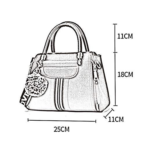 Zhwei Bag 11 18cm Petit Carré Élégant Décontracté Bandoulière Mme Mode Sac À Pu Messenger Main Paquet 04 Rt2635 La 25 Femme aaHrUqx