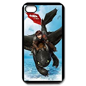 iPhone 4,4S Phone Case Black How to train your dragon V8913339