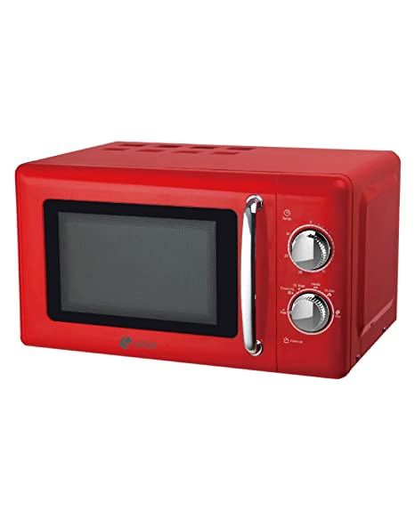 Artrom MM-720RML - Microondas retro, 700 W, color rojo: Amazon.es ...