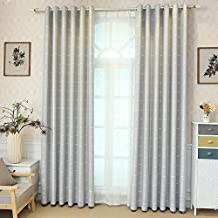 YouYee Polyester Beautiful Blackout Window Elegance Curtain/drape/panel/treatment for Bedroom Living Room,100 x 106Inch,1 Panel,Top Grommets