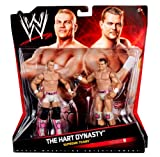WWE Supreme Teams - The Hart Dynasty:  David Hart Smith & Tyson Kidd Figure 2-Pack - Series #9