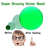 Water Beads for Kids,Sensory Toys for Autistic Children, Super Growing Water Beads Splash Balls Bomb Rainbow Mix for Refill, Vases, Plants, Wedding,Home Decoration