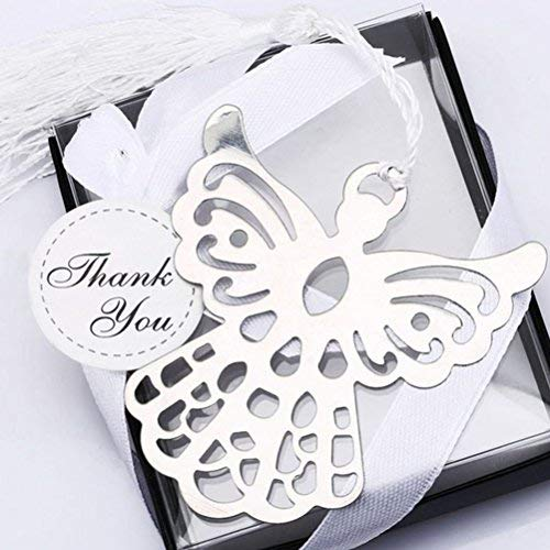 CTY Party Set of 40pcs Blessings Angel Bookmark, Baptism Favors ()