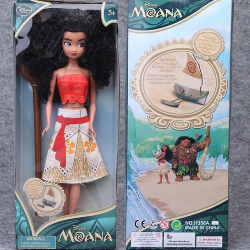 Movie Moana 11  Classic Princess Doll Collection Figure Disney Store Girls Toy