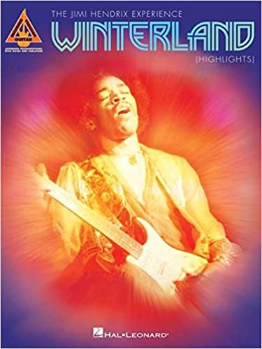 Book Jimi Hendrix - Winterland (Highlights) (Guitar Recorded Versions)