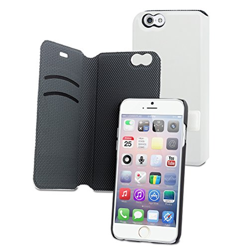 Muvit Wallet Magic 2 cardslots Weiss iPhone 6