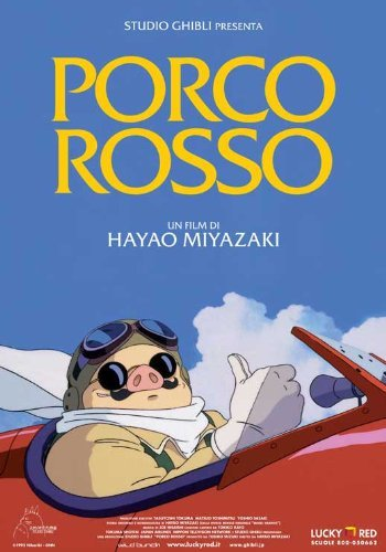 Porco Rosso POSTER Movie (11 x 17 Inches - 28cm x 44cm) (1992) (Italian Style A)