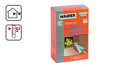 Maurer 14010310 Edil Cemento Refractario Maurer (Caja 1 kg.)