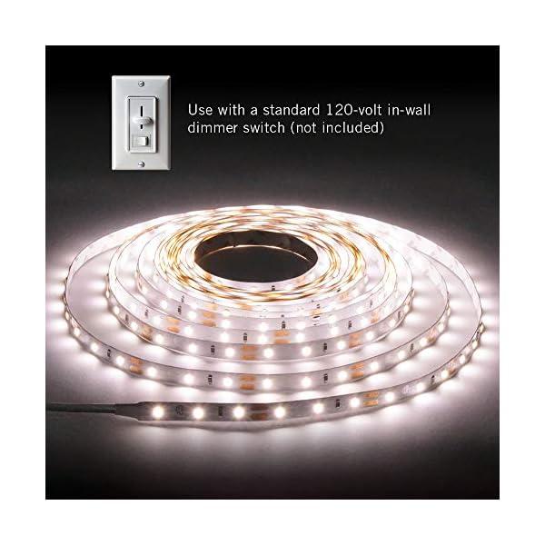 Armacost Lighting 421502 LED Tape Light Kit, 16 ft, 3000K (AC Dimmable) 2