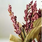 Factory-Direct-Craft-Set-of-2-Mauve-Artificial-Wildflower-Bushes-for-Home-Decor-Crafting-and-Displaying