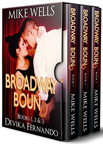 Broadway Bound, Books 1, 2 & 3: An Inspirational Romance Set in the Musical Theater (Actors Vacation Christmas In)