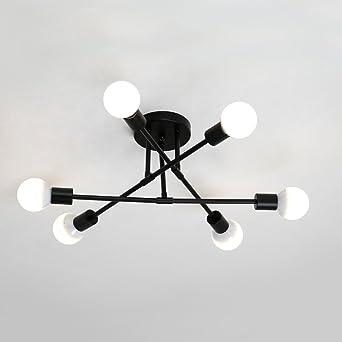 Zzatt Deckenleuchte Nordic Modern Deckenlampe E27 6 Kreativitat