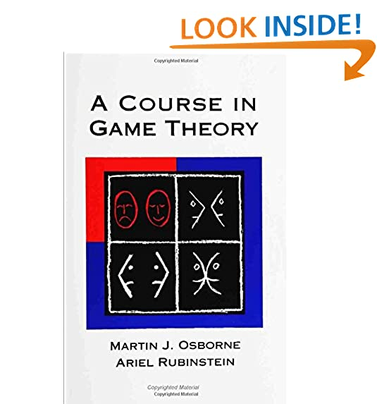 A course in game theory the mit press martin j osborne ariel a course in game theory the mit press martin j osborne ariel rubinstein 0000262650401 amazon books fandeluxe Image collections