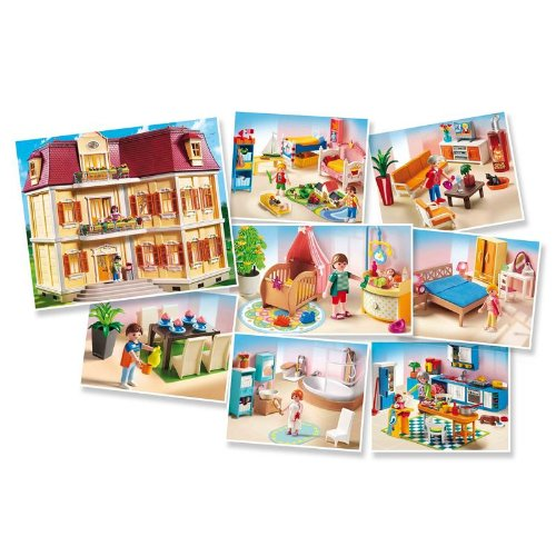 playmobil accessoires maison de ville. Black Bedroom Furniture Sets. Home Design Ideas