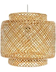 Liby lampa sufitowa, bambusowa, naturalna
